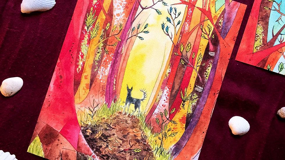 Forest Walk - Print