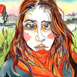 Sol Anzorena - Self-portrait