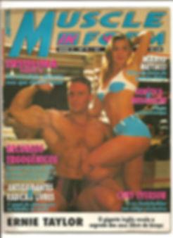 Revista Muscle In Form Mário Mattiacci