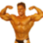 Duplo bíceps Mário Mattiacci com 20 anos
