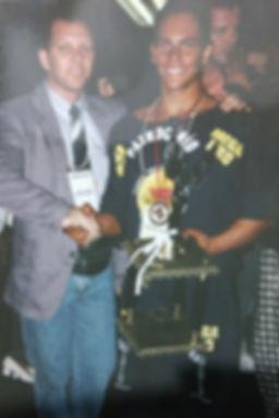 Campeão Paulista Jr 1995 de fisiculturismo Mário Mattiacci