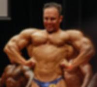 expansão de dorsais fisiculturismo bodybuilder poses Máro Mattiacci