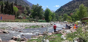 One day trip to the Ourika Valley from Marrakech.