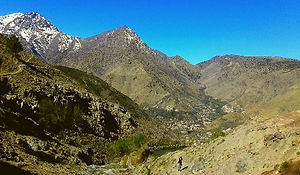 Day Trek from Imlil Village up to the pass of Tizi n´Tamatert
