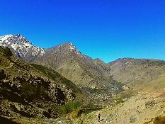 Day Trek from Imlil up to the Tizi n´Tamatert pass
