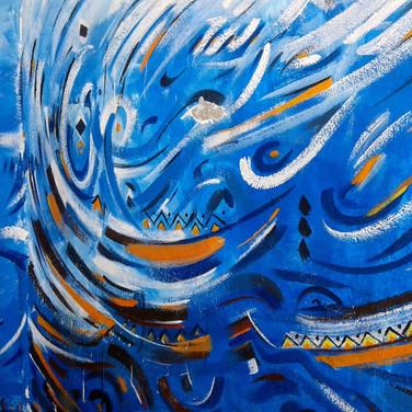 Mural in Essaouira