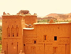 One Day Excursion to the Kasbahs beyond the High Atlas Pass of Tizi n´Tichka