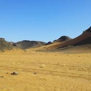 Sahara Desert off road
