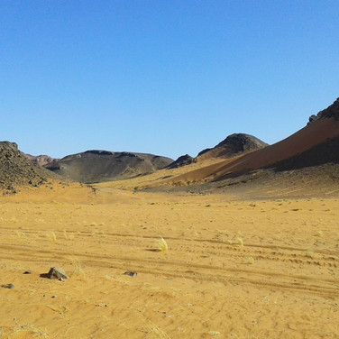 Sahara Desert off road