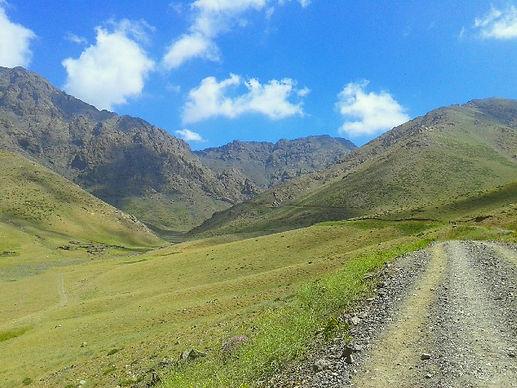 the trail to Tizi n´ou Addi, Oukaimeden