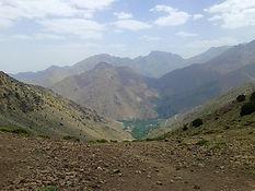 trekking in toubkal national park