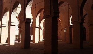 Inside Tinmel Mosque