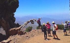 trekking in the high atlas