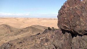 the Agafay Desert