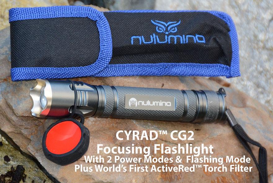 CG2 PRECISION ILLUMINATOR Focusable Flashlight