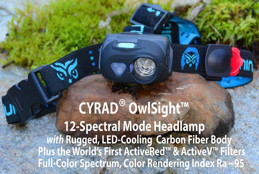 NULUMINA CYRAD OWLSIGHT Headlamp