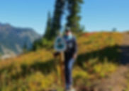 Founder of Nulumina Hiking Pacific Crerst Trail