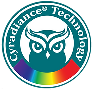 Cyradiance Broad Spectrum LED technology logo