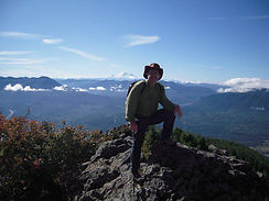 Founder on Mount Si hiking