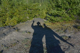 Shadows of nulumina founders hiking