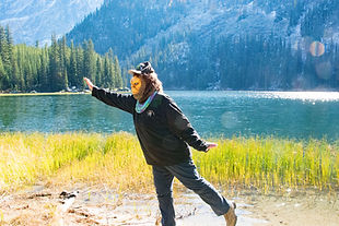 sasquatch big foot at Stewart lake washington