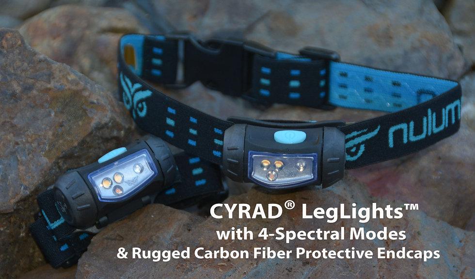 CYRAD LEGLIGHTS  Leg, Wrist, & Body Worn Lamps