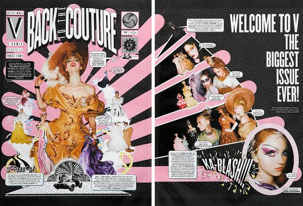 V Magazie USA / Christian Dior - Haute Couture FW 07