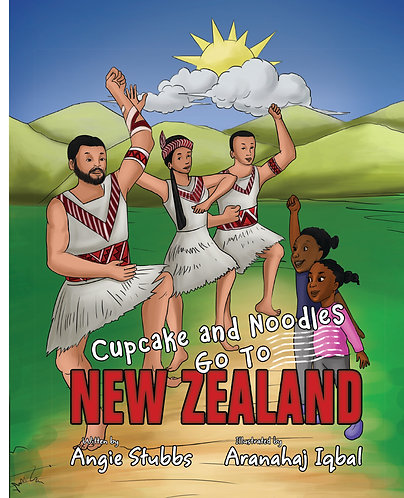 Cupcake and Noodles Go To New Zealand