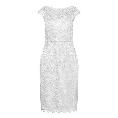 Delhi Dress - 9410 silver Lace