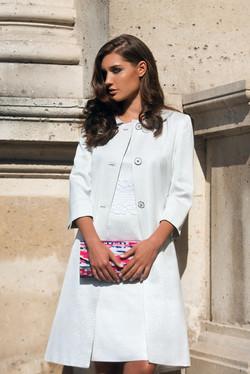 9 Pedra Coat 5045 €459 - £365 & Zanga Dress 5946 - €319 - £255