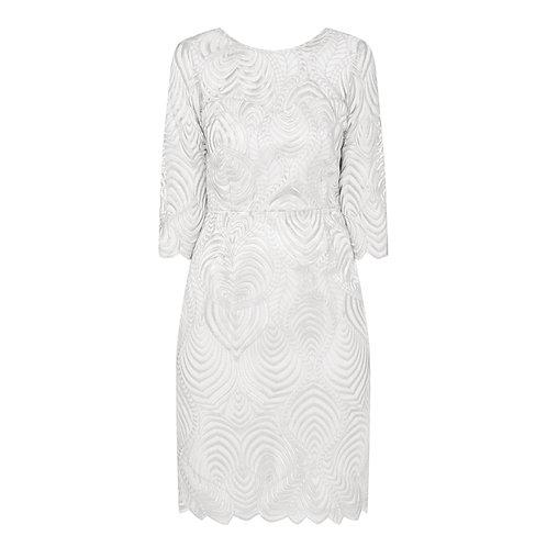 Kastra Dress - 9413 silver Lace
