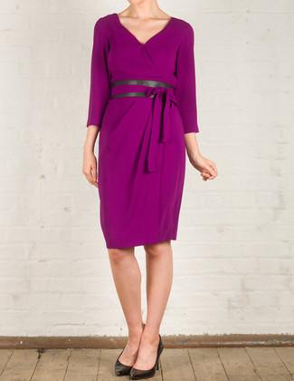 Bianca Dress Purple