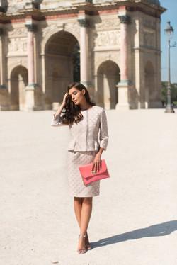 5 Suma Dress 5907 €280 - £225 - Amor Jacket 5006 - €349 - £280
