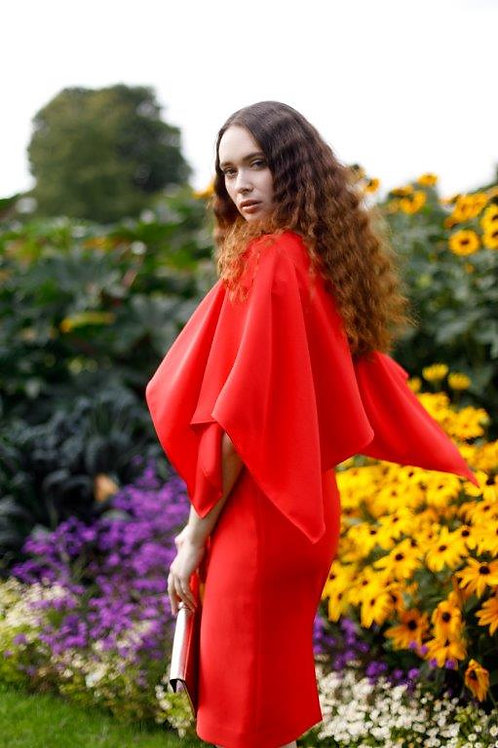 Blossom Dress - Red 8974