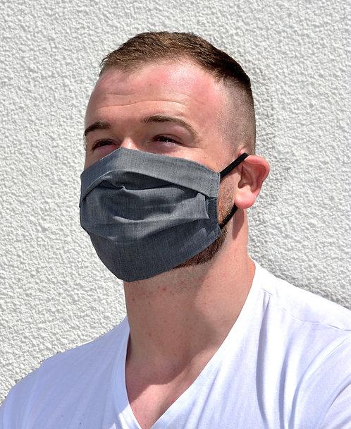 Charcoal (Men's Mask) - 2 Pack