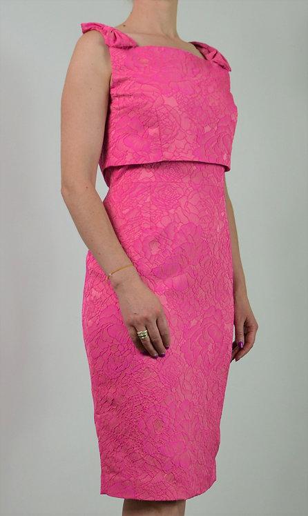 Dali Dress - Pink Print 1983