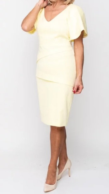Prin Dress - Lemon 1927