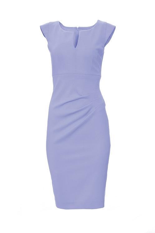 Spiral Dress - Blue