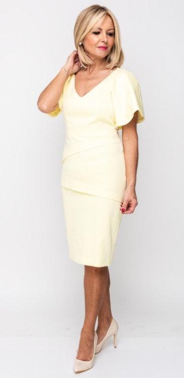 Prin Dress Lemon