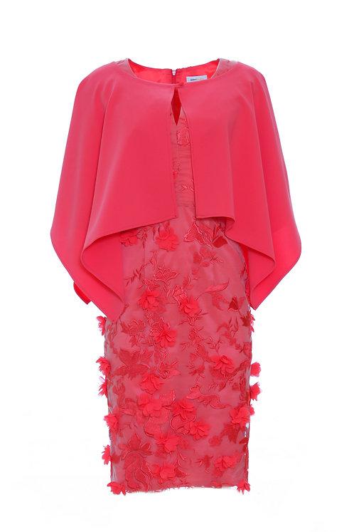 Blossom Dress - Red 8973