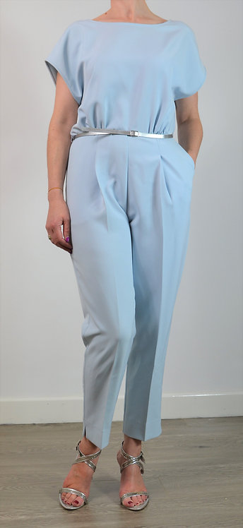 Lotus Jumpsuit - Blue 8934
