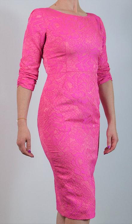 Rubens Dress - Pink Print 1984