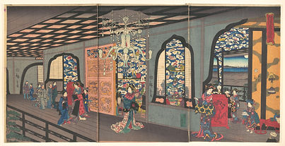 Yokohama_Gankirō_age-横浜岩亀楼上-Upper_Floor_