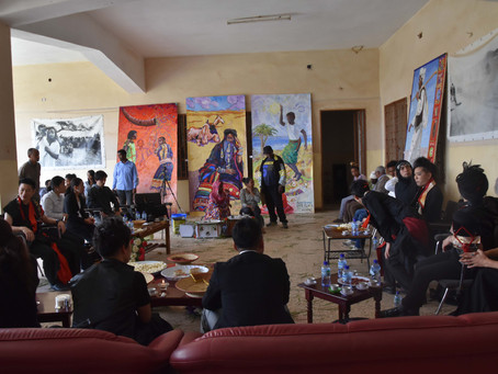 エリトリア遠征⑤文化シポーツ長官表敬訪問 想像していなかった歓待!!