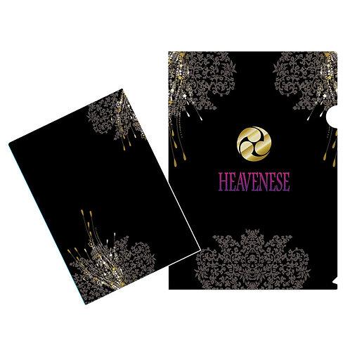 HEAVENESE クリアファイル(黒)