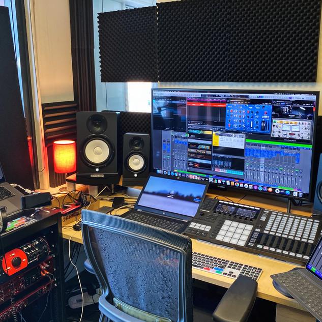 Control Room Set Up