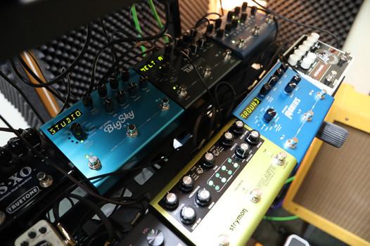 Strymon guitar pedals