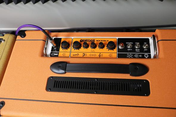 Effects on the Orange Rocker amp