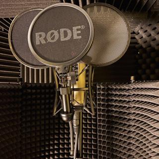 Close up of R0DE NT 2a mic