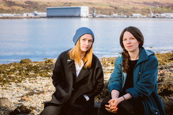 JENNA WATT and KIM MOORE (sound designer) press shot